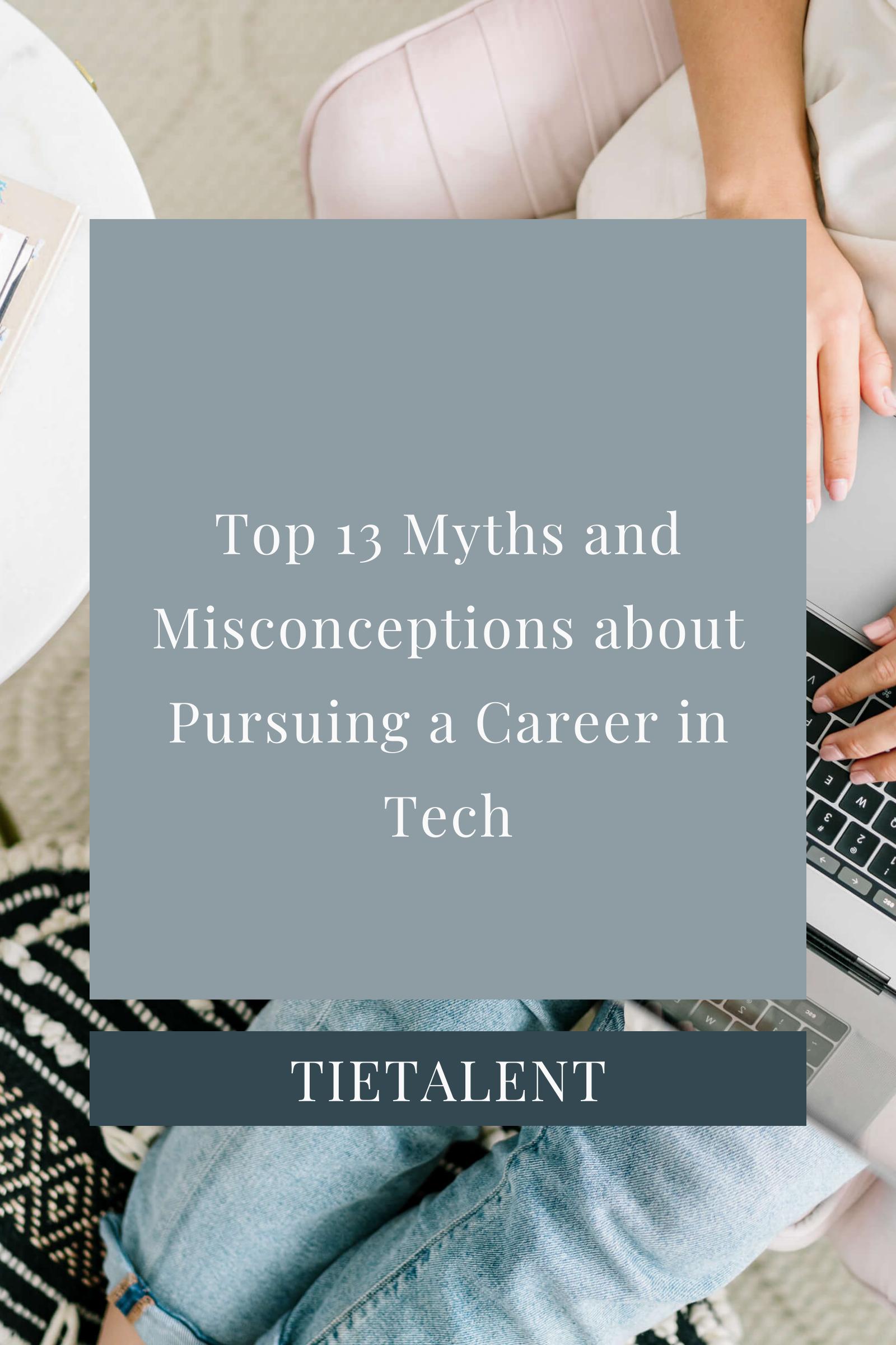 Career in IT Myths